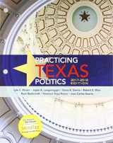9781337597845-1337597848-Bundle: Practicing Texas Politics, 2017-2018 Edition, Loose-Leaf Version, 17th + MindTap Political Science, 1 term (6 months) Printed Access Card