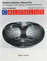 9781319254414-1319254411-Student Solutions Manual for Calculus Early and Late Transcendentals Multivariable