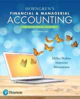 9780134486857-0134486854-Horngren's Financial & Managerial Accounting, The Managerial Chapters