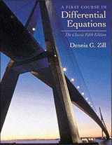 9780534373887-0534373887-A First Course in Differential Equations: The Classic Fifth Edition (Classic Edition)