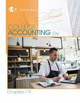 9781305666184-1305666186-College Accounting, Chapters 1-9 (New in Accounting from Heintz and Parry)