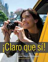 9781111829681-1111829683-Student Activities Manual for Caycedo Garner's Claro que si!, 7th