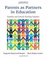 9780133802467-0133802469-Parents as Partners in Education: Families and Schools Working Together (9th Edition)