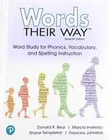 9780135174623-0135174627-Words Their Way: Word Study for Phonics, Vocabulary and Spelling Instruction with Words Their Way Digital and Enhanced Pearson eText -- Access Card Package