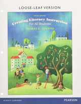 9780134059792-0134059794-Creating Literacy Instruction for All Students, Enhanced Pearson eText with Loose-Leaf Version -- Access Card Package (9th Edition)