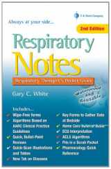 9780803629226-0803629222-Respiratory Notes: Respiratory Therapist's Pocket Guide (Davis's Notes)