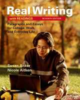 9781319003197-1319003192-Real Writing with Readings: Paragraphs and Essays for College, Work, and Everyday Life