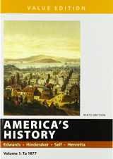 9781319060565-1319060560-America's History, Value Edition, Volume 1