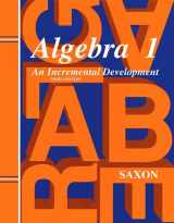 9781565771376-1565771370-Saxon Algebra 1 Solutions Manual