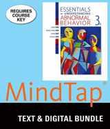 9781305929067-1305929063-Bundle: Essentials of Understanding Abnormal Behavior, Loose-Leaf Version, 3rd + MindTap Psychology, 1 term (6 months) Printed Access Card