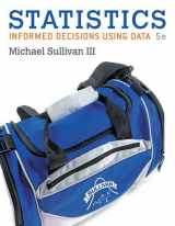 9780134135366-0134135369-Statistics: Informed Decisions Using Data plus MyLab Statistics with Pearson eText -- Access Card Package (5th Edition) (Sullivan, The Statistics Series)