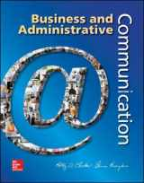 9780073403250-0073403253-Business and Administrative Communication