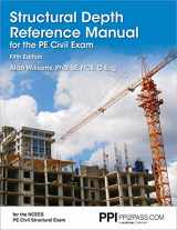 9781591265559-159126555X-PPI Structural Depth Reference Manual for the PE Civil Exam, 5th Edition (Paperback) – A Complete Reference Manual for the PE Civil Structural Depth Exam