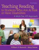 9780133833645-013383364X-Teaching Reading to Students Who Are At Risk or Have Disabilities, Enhanced Pearson eText with Loose-Leaf Version -- Access Card Package (3rd Edition)