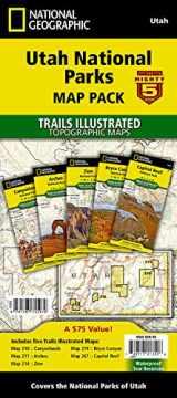 9781597755979-1597755974-Utah National Parks [Map Pack Bundle] (National Geographic Trails Illustrated Map)