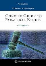 9781454873365-1454873361-Concise Guide to Paralegal Ethics (Aspen Paralegal)