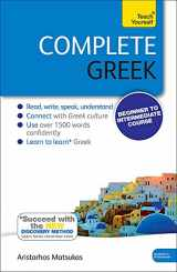 9781444195347-1444195344-Complete Greek with Two Audio CDs: A Teach Yourself Guide
