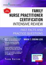 9780826134295-0826134297-Family Nurse Practitioner Certification Intensive Review, Third Edition: Fast Facts and Practice Questions - Book and Free App – Highly Rated FNP Exam Review Book