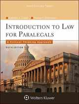 9781454838760-1454838760-Introduction To Law for Paralegals: A Critical Thinking Approach (Aspen College)