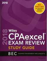 9781119481140-1119481147-Wiley CPAexcel Exam Review 2018 Study Guide: Business Environment and Concepts (Wiley CPA Exam Review Business Environment & Concepts)