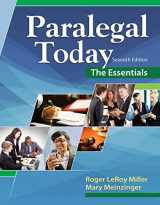 9781305508743-1305508742-Paralegal Today: The Essentials
