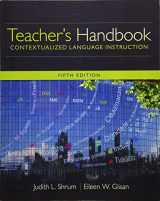 9781305109704-1305109708-Teacher's Handbook: Contextualized Language Instruction (World Languages)