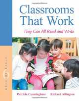 9780134089591-0134089596-Classrooms That Work: They Can All Read and Write (6th Edition)