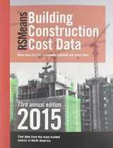 9781940238500-1940238501-RSMeans Building Construction Cost Data (RSMeans Guides)