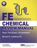 9781591264453-1591264456-PPI FE Chemical Review Manual, 1st Edition (Paperback) – Comprehensive Review Guide for the NCEES FE Chemical Exam