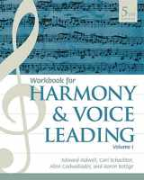9781337560696-1337560693-Student Workbook, Volume I for Aldwell/Schachter/Cadwallader's Harmony and Voice Leading, 5th