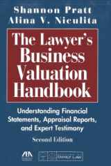 9781604428032-1604428031-The Lawyer's Business Valuation Handbook