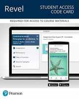 9780134567303-0134567307-Revel for Communication: Principles for a Lifetime -- Access Card (What's New in Communication)