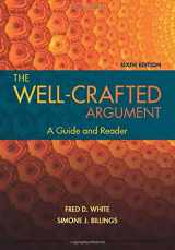 9781337287289-1337287288-The Well-Crafted Argument (with 2016 MLA Update Card)