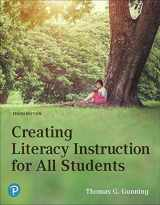 9780134986487-0134986482-Creating Literacy Instruction for All Students (10th Edition)