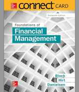9781259356162-1259356167-Connect 1-Semester Access Card for Foundations of Financial Management
