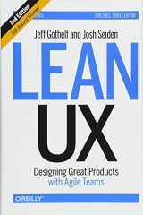 9781491953600-1491953608-Lean UX: Designing Great Products with Agile Teams