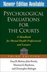 9781572309661-1572309660-Psychological Evaluations for the Courts, Third Edition: A Handbook for Mental Health Professionals and Lawyers