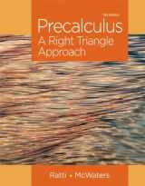 9780321917348-0321917340-Precalculus: A Right Triangle Approach Plus NEW MyLab Math with Pearson eText -- Access Card Package (Ratti/McWaters Series)
