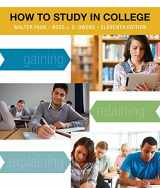 9781133960782-1133960782-How to Study in College