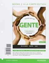 9780134244167-0134244168-Gente: nivel básico, 2015 Release, Books a la Carte plus MyLab Spanish -- Access Card Package