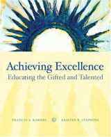 9780131755628-0131755625-Achieving Excellence: Educating the Gifted and Talented