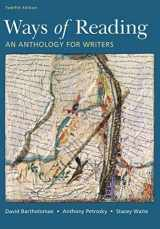 9781319195809-1319195806-Ways of Reading: An Anthology for Writers
