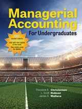 9781618531124-1618531123-MANAGERIAL Accounting F/UNDERGRADUATES