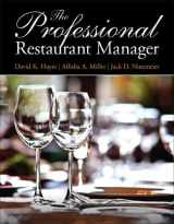 9780132739924-0132739925-Professional Restaurant Manager, The (Myculinarylab)