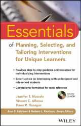 9781118368213-1118368215-Essentials of Planning, Selecting, and Tailoring Interventions for Unique Learners (Essentials of Psychological Assessment)