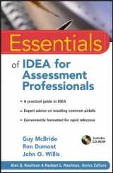 9780470873922-0470873922-Essentials of IDEA for Assessment Professionals