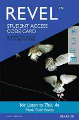 9780134419794-0134419790-Revel for Listen to This -- Access Card (4th Edition)