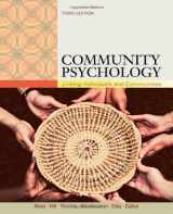 9781111352578-1111352577-Community Psychology: Linking Individuals and Communities