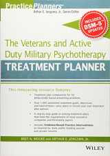 9781119063087-1119063086-The Veterans and Active Duty Military Psychotherapy Treatment Planner, with DSM-5 Updates (PracticePlanners)