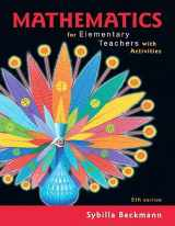 9780134754208-0134754204-Mathematics for Elementary Teachers with Activities Plus MyLab Math with Pearson eText -- 24 Month Access Card Package (5th Edition)